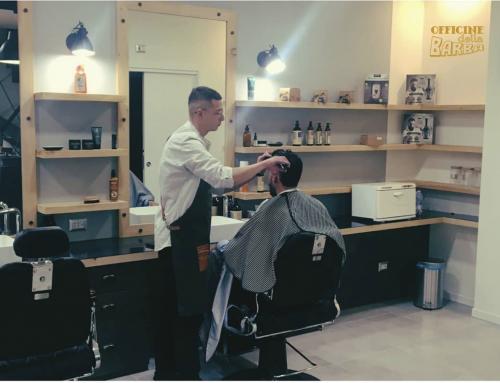 Nuova apertura Barberia a Milano di Officine della Barba