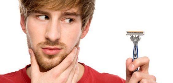 rasare la barba